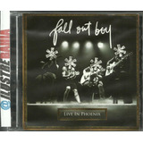 Cd   Dvd Fall Out Boy Live Phoenix  importado