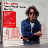 Cd   Dvd John Lennon   Power To The People Hits   Promoção