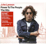 Cd   Dvd John Lennon   Power To The People The Hits   Novo