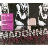 Cd   Dvd Madonna   Sticky & Sweet Tour   Novo Lacrado