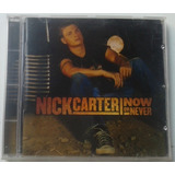 Cd   Dvd Nick Carter   Now Or Never