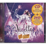 Cd   Dvd Violetta    Ao Vivo Cd Duplo