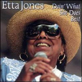 Cd   Etta Jones  1996  Doin  What She Does Best  importado