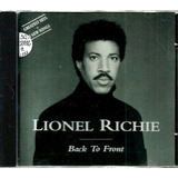 Cd   Lionel Richie = Back To Front   16 Sucessos