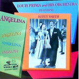 Cd   Louis Prima & Keely Smith = Angelina   27 Sucessos  imp