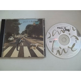 Cd   Paul Mccartney   Paul Is Live