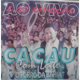 Cd      Cacau Co Leite      O Forró Da Bahia