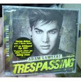 Cd    Adam Lambert     Trespassing    Novo Lacrado