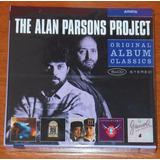 Cd   Alan Parsons Project   Box 5 Cds   Albums Classics