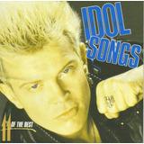 Cd   Billy Idol   Idol Song 11 Of The Best   Lacrado