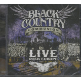 Cd   Black Country Communion   Live Over Europe   Dup Lacrad
