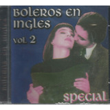 Cd   Boleros Em Inglês   Volume 2   Bonnie Tyler   Lacrado