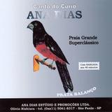 Cd   Canto Do Curió Ana Dias   Prata Balanço
