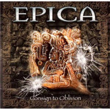 Cd   Cardboard Sleeve   Epica   Consign To Oblivion