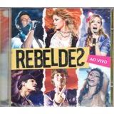 Cd   Cd Rebeldes Ao Vivo   Trilha Sonora Da Record