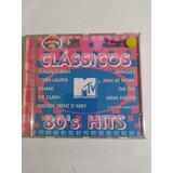 Cd   Classicos Mtv 80 Hits