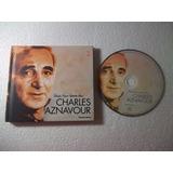 Cd   Coleção Folha Grandes Vozes Charles Aznavour
