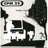 Cd   Cpm 22   Cidade Cinza    Lacrado