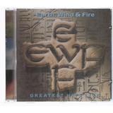 Cd - Earth Wild & Fire - Greatest Hits Live - Novo