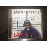 Cd   Eazy e   Str8 Off Tha Streetz Of Muthaphu In Compton