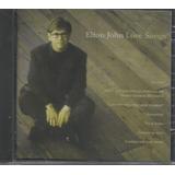 Cd   Elton John   Love Songs   Lacrado