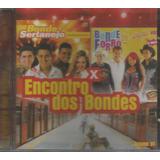 Cd   Encontro Dos Bondes   Sertanejo X Forró   Lacrado