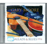 Cd   Gary Moore   Ballads & Blues 1982   1994   Lacrado