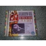 Cd   Gilberto Gil Live In Tokio Importado