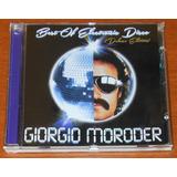 Cd   Giorgio Moroder   The Best Of Eletronic Disco