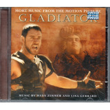 Cd   Gladiator   More Music From The Motion Picture  Lacrado