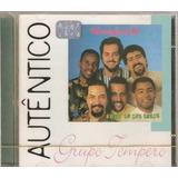 Cd   Grupo Tempero   Serie Autentico Columbia