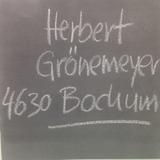 Cd   Herbert Gronemeyer   630 Bochum   Importado