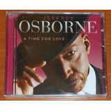 Cd   Jeffrey Osborne   A Time For Love