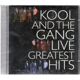 Cd   Kool And The Gang    Live   Greatest Hits   Lacrado
