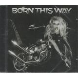 Cd   Lady Gaga   Born This Way   Lacrado
