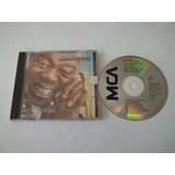 Cd   Louis Armstrong   What A Wonderful World   Blues E Jazz