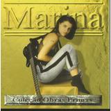 Cd   Marina Lima   Coleção Obras Primas   Lacrado