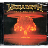 Cd   Megadeth   Greatest Hits Back To The Start   Lacrado