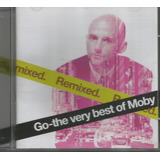 Cd   Moby   Remixed   Go   The Very Best Of   Lacrado