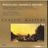 Cd   Mozart   Concerto Para Piano 22   Classic Masters