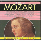 Cd   Mozart   The Best Of Mozart   60 Minutes Playing Time