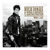 Cd   Nick Jonas And The Administration   Who I Am   Lacrado