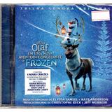 Cd   Olaf Em Uma Nova Aventura Congelante De Frozen