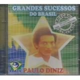 Cd   Paulo Diniz   Grandes Sucessos Do Brasil   Lacrado