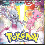 Cd   Pokemon   The First Movie   1999   Importado