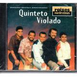 Cd   Quinteto Violado   Raízes Nordestinas   Lacrado