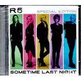 Cd   R5   Sometime Last Night   Special Edition   Lacrado