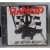 Cd   Rancid And Out Come The Wolves   Time Bomb Ruby Soho