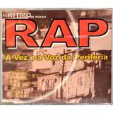 Cd   Rap A Vez E A Voz Da Periferia   Frete Grátis