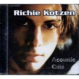 Cd   Richie Kotzen   Acoustic Cuts   Lacrado